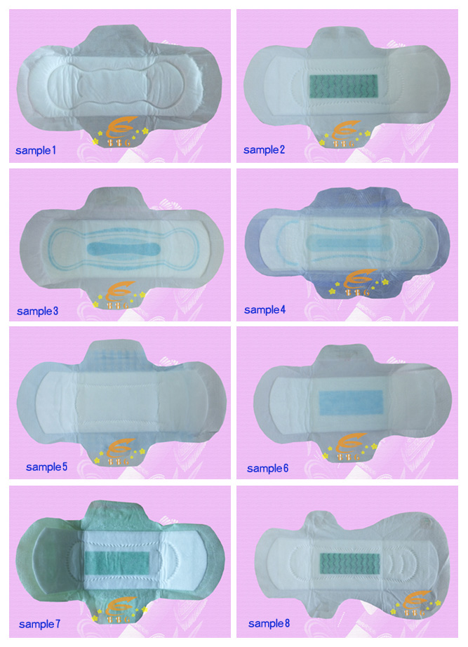 sanitary pad sample