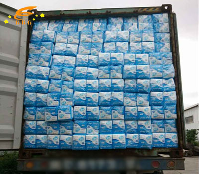 Shipped out one 40'HQ of adult diaper to Asia