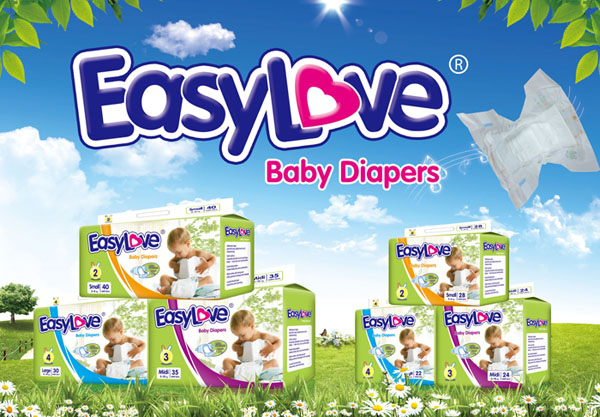 New Promotion of Our Easy Love Brand Baby Diapers