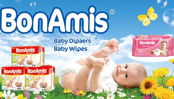 Special Offer of Our BonAmis Brand Baby Diapers