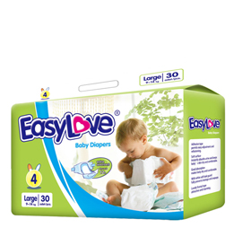 Easy Love High Quality Baby Diaper