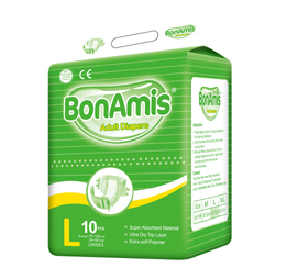 BonAmis Printed Adult Diaper