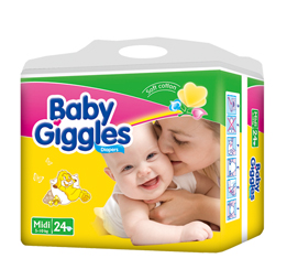 Huggies Quality Baby Giggles Diapers