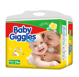 Baby Giggles Disposable Nappies