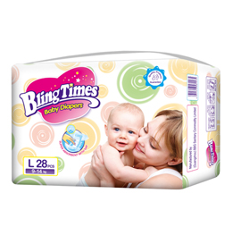 Bling Times Soft Care Baby Diaper