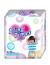 Bling Times Pull Up Baby Diapers