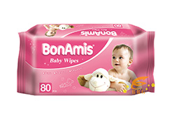 BonAmis Alcohol-free Wet Wipes