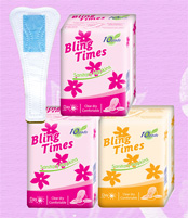 155mm comfortable bling times brand disposable ladies panty liner