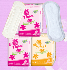 180 women care sanitary pads with winged and anion sanitary pad panty liner