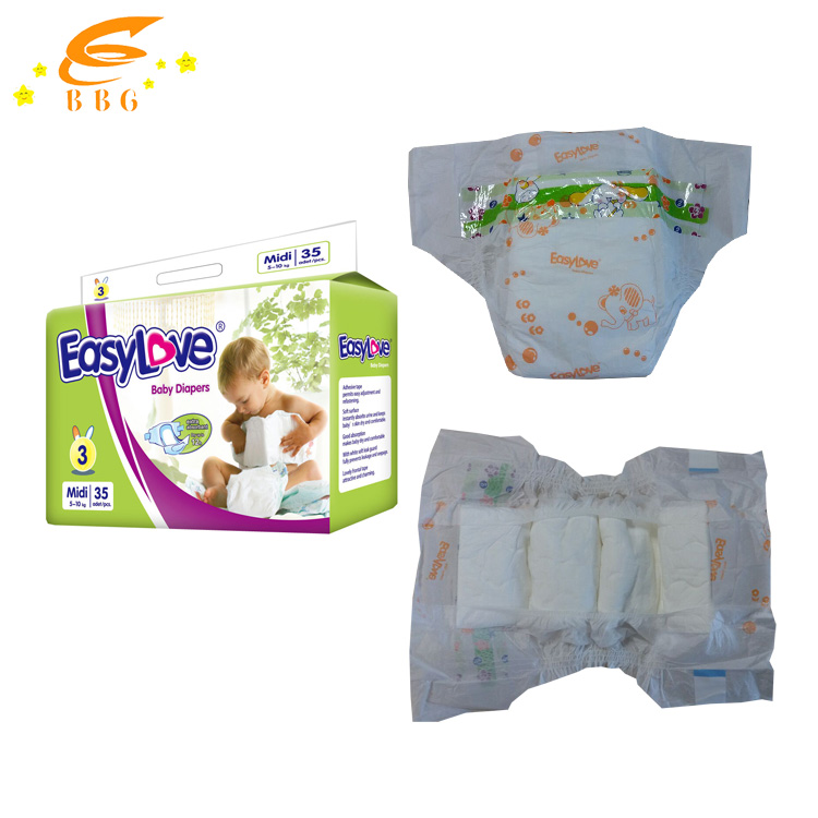 Wholesale Babies Kids Products Baby Disposable Diaper Manufacturers in China