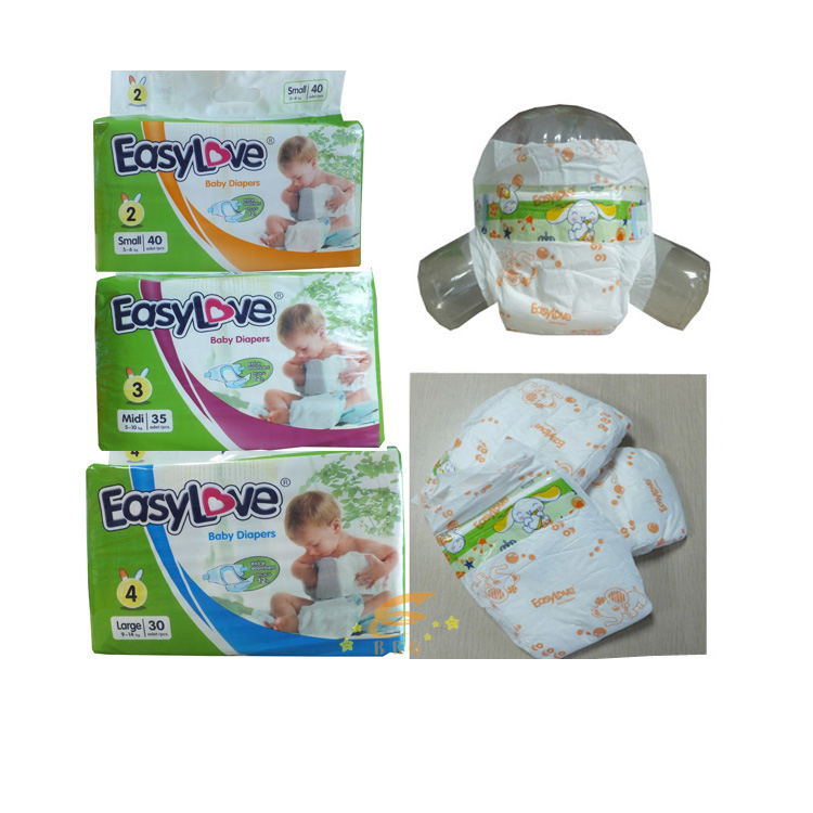 Wholesale disposable pampers cheap european baby diapers in china
