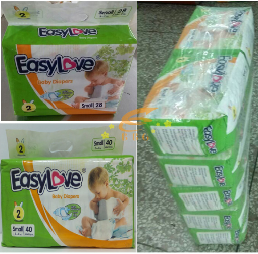 China Supplier Babies Product Economic Baby Bulk Diapers for Sale