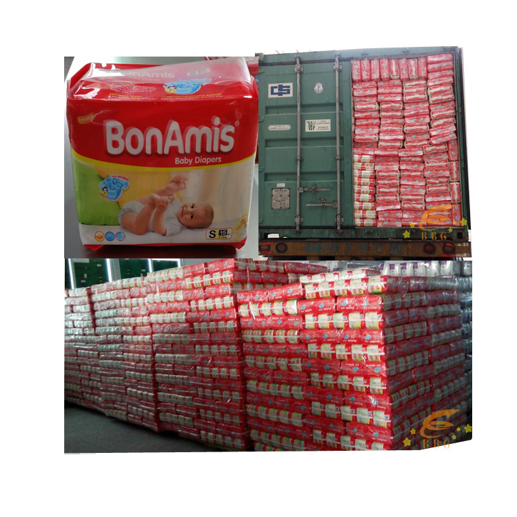 Wholesale Pampers quality diaper BonAmis baby diapers in China