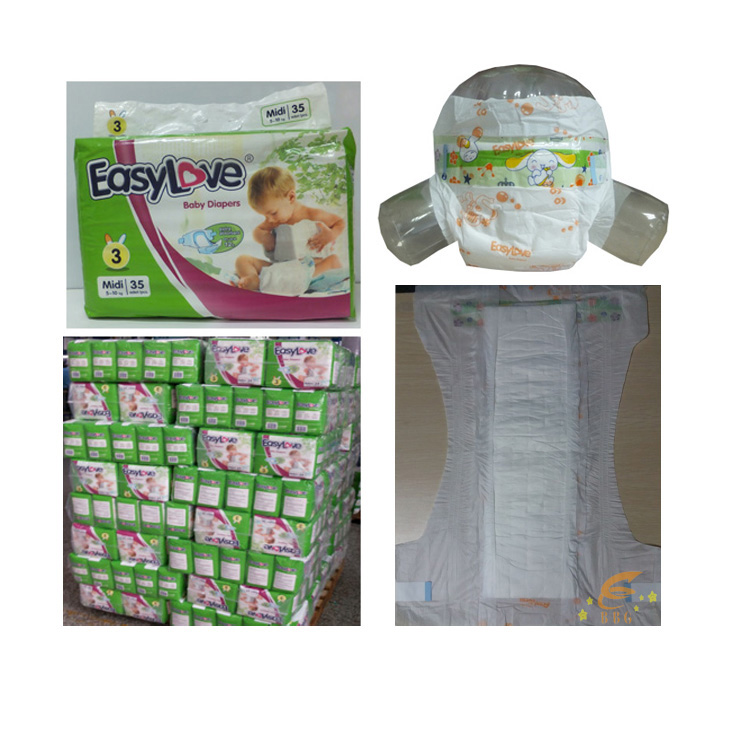Baby diaper stock with wholesale price baby diapers manufacturers in China