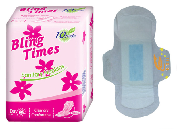 Hot sell sanitary napkin manufacturers produce feminine hygiene women sanitary pads