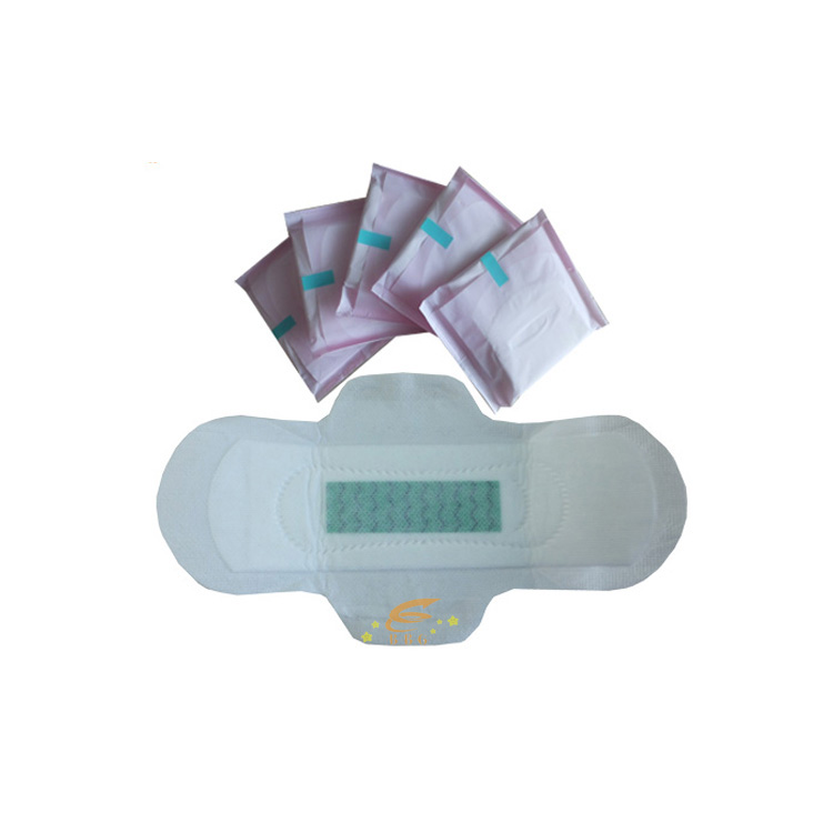 280mm size anion  ladies sanitary pads for night use  manufacturer in China