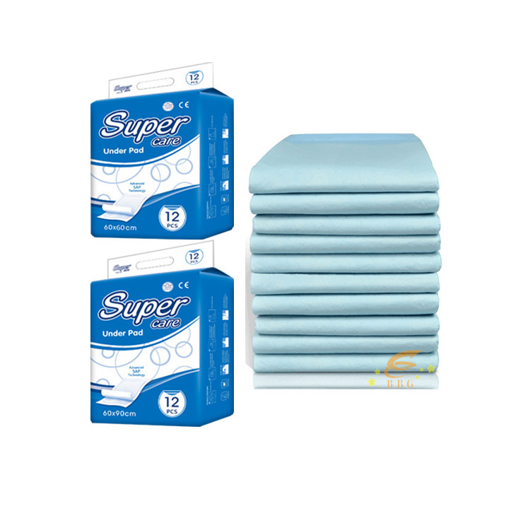 Super absorbent polymer nursing disposable under pads in stocklots
