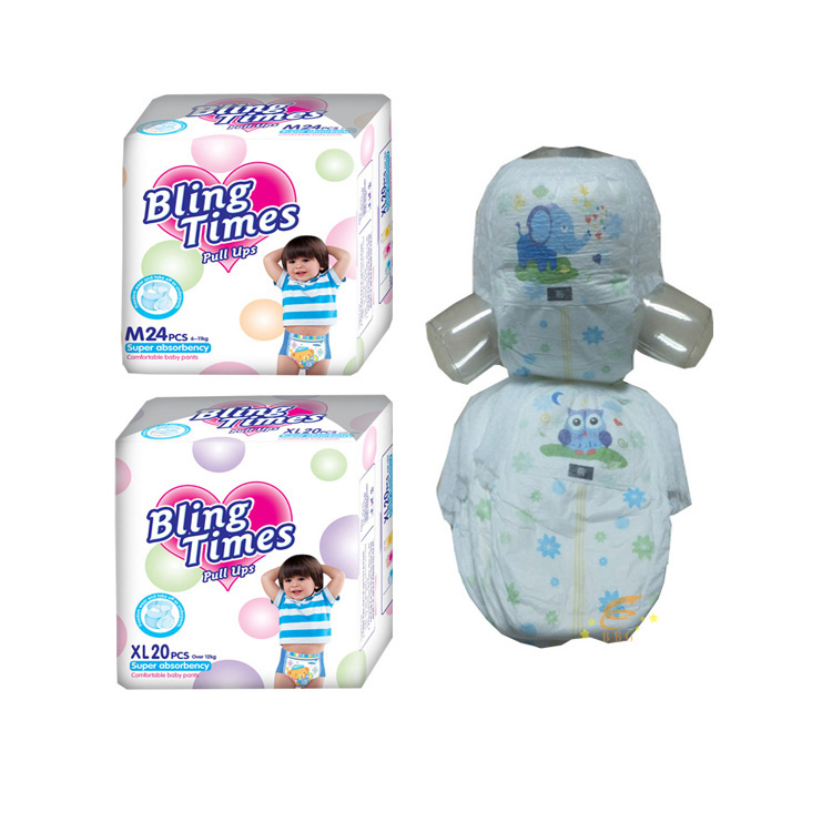 Comfortable and Ultra soft baby diaper pants made in china
