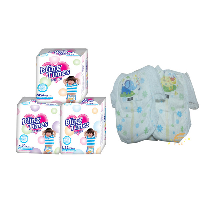 Bling Times baby pull up diaper wholesale baby pants