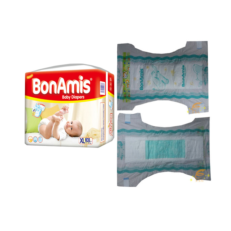 Quanzhou Factory cheap wholesale diaper nice pampers baby diapers