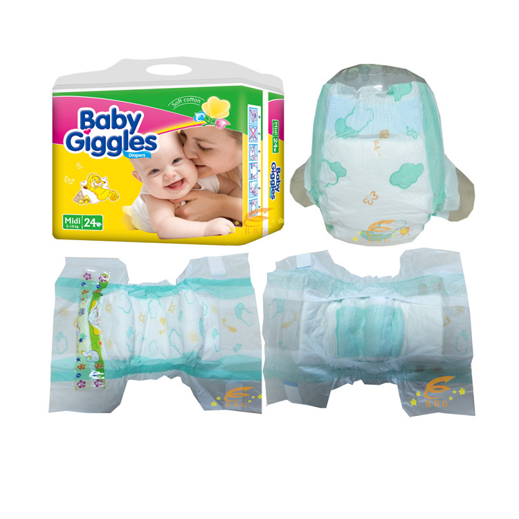 Super Soft Sleepy Best Price Baby Diapers Wholesalers Baby Giggles Pampers