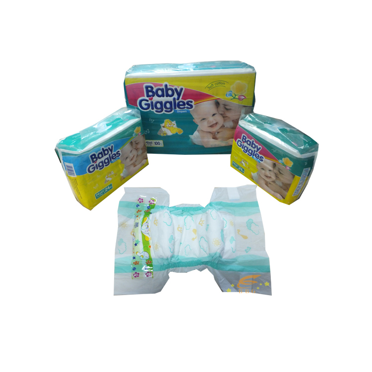 Famous Pampers Hot Sale Cheap Disposable Baby Diapers Facory in China