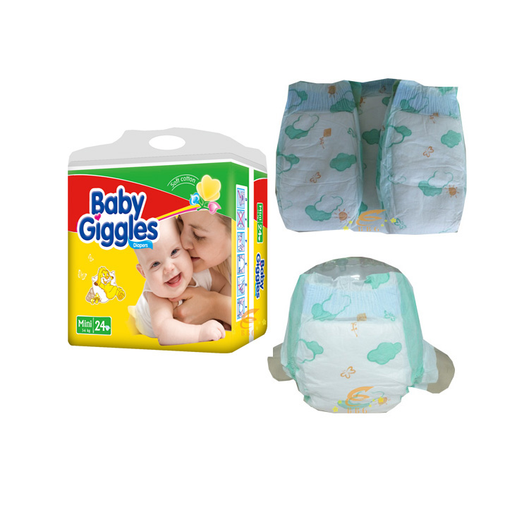 2016 BBG Hot sell factory price high baby diaper for absorption disposable make China