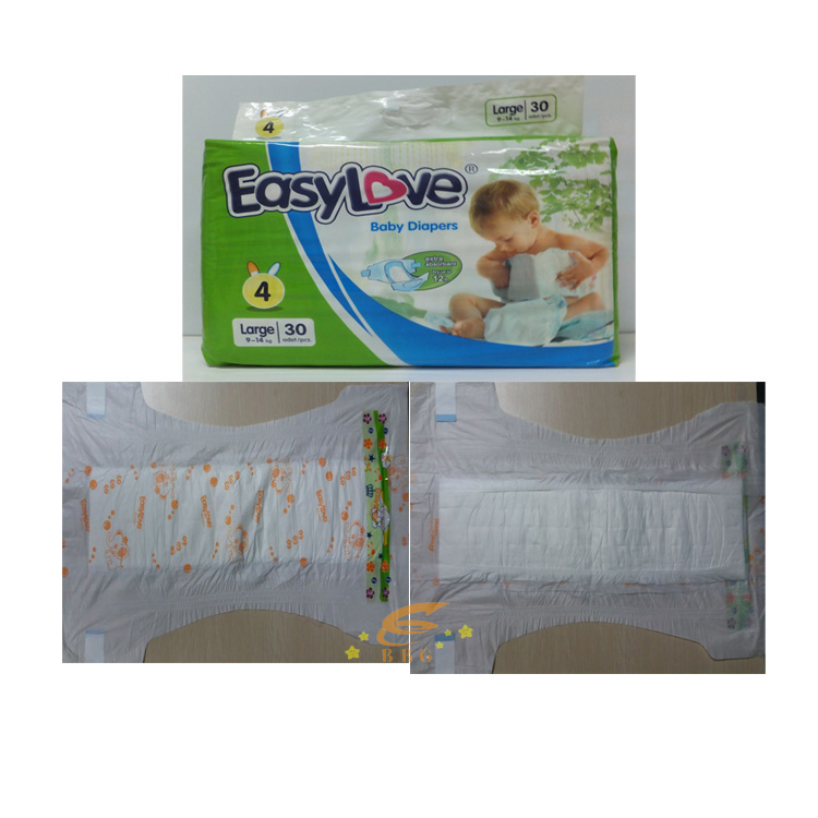 3D leakguard baby sleepy diaper/comfortable baby diaper/nappies