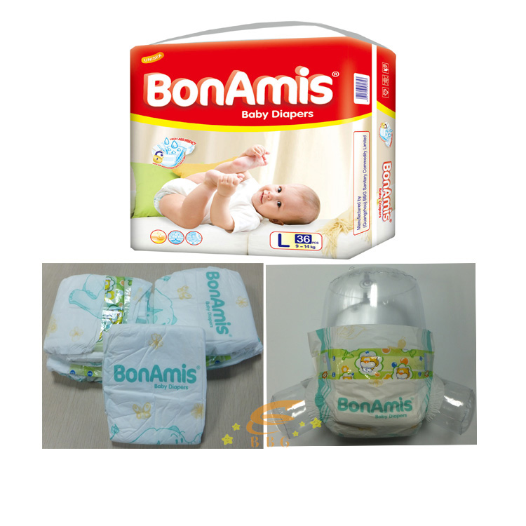 Beautiful Style Baby Diapers Made In China Africa Pampers