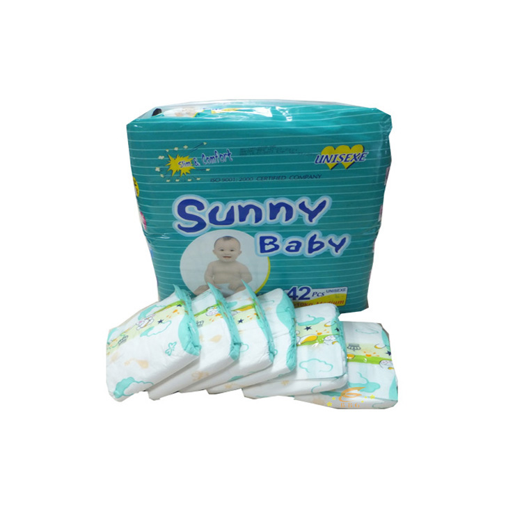 High Absorption Disposable Sunny  Baby Pamperes Factory In Fujian
