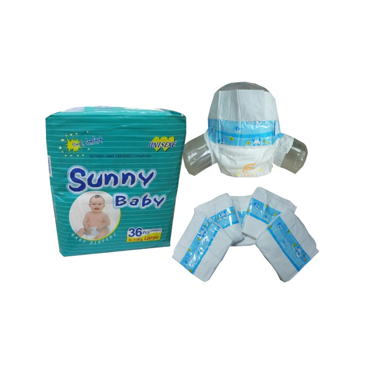 Sunny Baby Disposable Baby Diaper Wholesale pampers Baby Diaper in Bulk