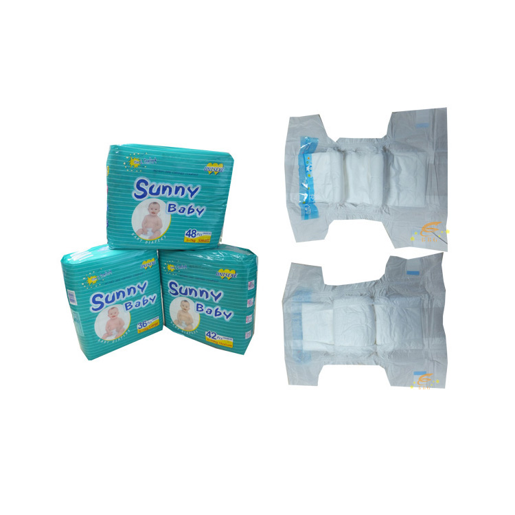 Disposable Dry Surface Soft Cotton Pampers Sunny Baby Diapers