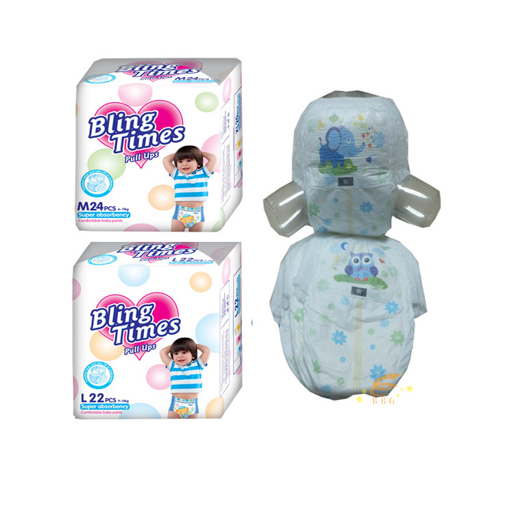 High Quality Competitive Price Disposable Baby Pants Diaper Manufacturer