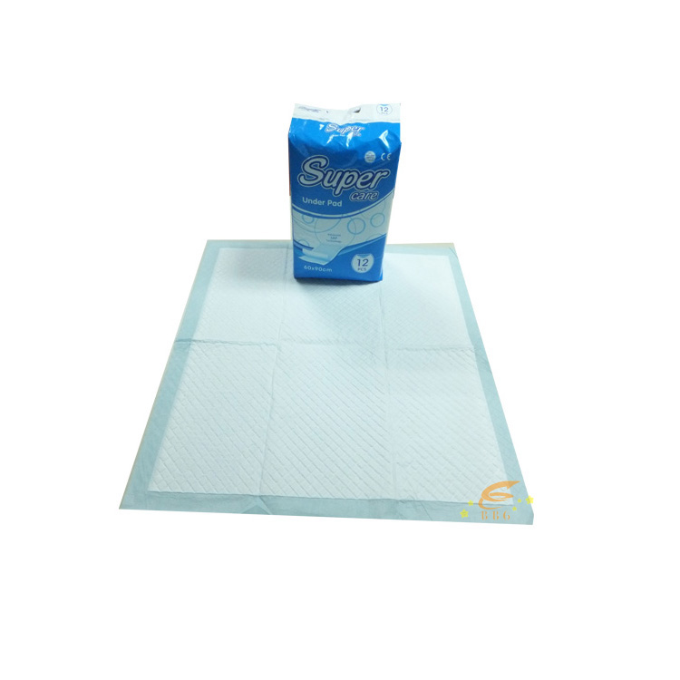 High quality under pad disposable carepad under pad in stocklots made in China