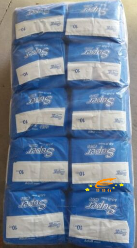 ISO and CE  Certificate Ultra-thin Disposable Organic Adult Diapers in Bulk