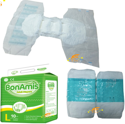 2017 Fujian Factory Wholesale healthy disposable diapers, adult diapers in bulk, diapers for hospita
