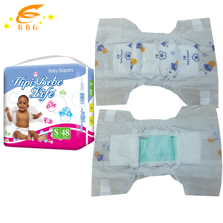 Wholesale elastic waistband soft disposable diaper baby disposable sleepy baby diaper manufacturer i